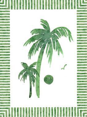 Green Palms II by Nicholas Biscardi
