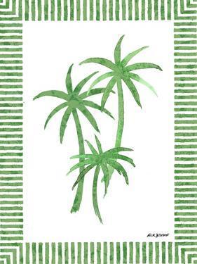 Green Palms III by Nicholas Biscardi