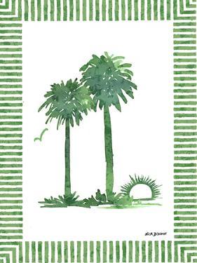 Green Palms IV by Nicholas Biscardi