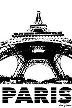 Modern Paris I by Nicholas Biscardi