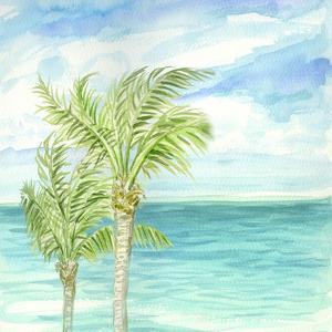 Refreshing Coastal Breeze I by Nicholas Biscardi