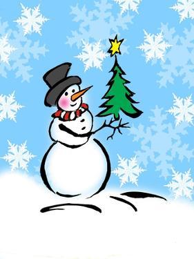 Silly Snowmen III by Nicholas Biscardi