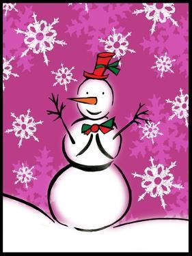 Silly Snowmen IX by Nicholas Biscardi