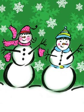Silly Snowmen V by Nicholas Biscardi