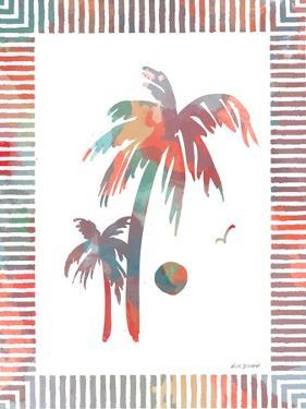 Watercolor Palms II by Nicholas Biscardi