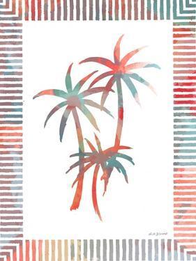 Watercolor Palms III by Nicholas Biscardi