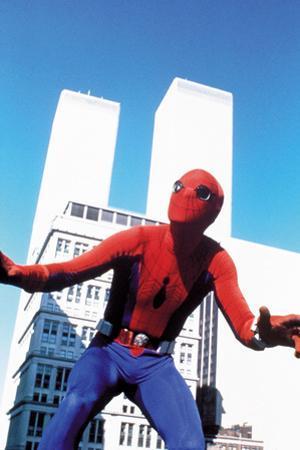 "Nicholas Hammond. ""Spiderman"" [1977], Directed by E. W. Swackhmamer."