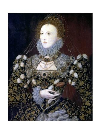 Elizabeth I, Queen of England and Ireland, 1575 by Nicholas Hilliard