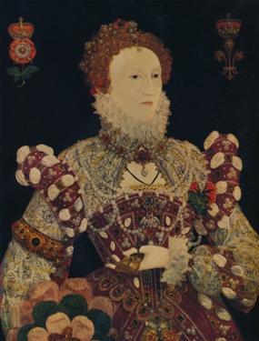 Elizabeth I, Queen of England and Ireland, c1574 by Nicholas Hilliard