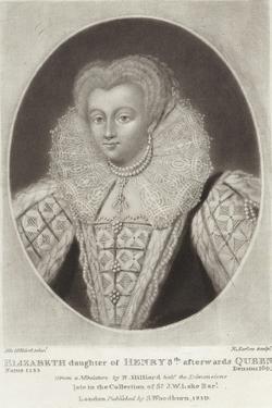 Elizabeth by Nicholas Hilliard