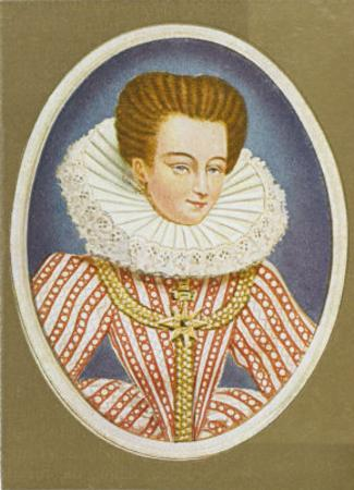 Gabrielle Estrees Mistress of Henri IV by Nicholas Hilliard