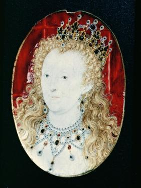 Miniature of Queen Elizabeth I by Nicholas Hilliard