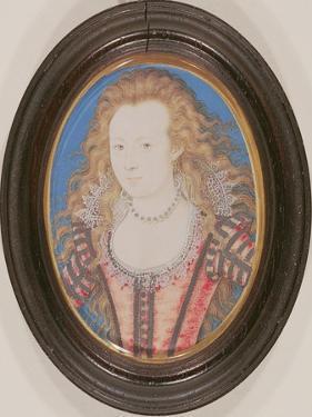Portrait of a Lady, C.1605-10 by Nicholas Hilliard