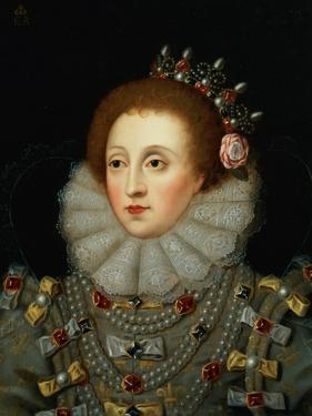 Portrait of Queen Elizabeth I (1533-1603) by Nicholas Hilliard