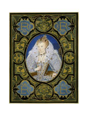 Queen Elizabeth I, 16th Century by Nicholas Hilliard
