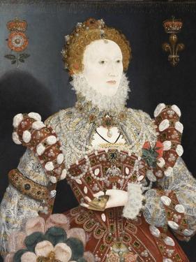 Queen Elizabeth I - the Pelican Portrait, C.1574 by Nicholas Hilliard