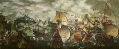 The Armada, 1588 by Nicholas Hilliard
