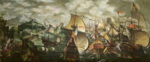 The Armada, 1588 by Nicholas Hilliard