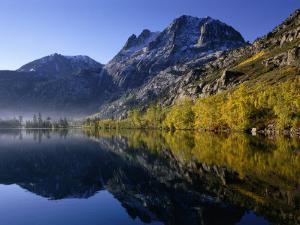 Autumn Morning, Silver Lake, June Lake Loop, Eastern Sierra Nevada by Nicholas Pavloff