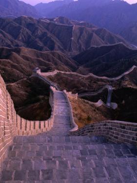 Great Wall of China, Badaling, China by Nicholas Pavloff