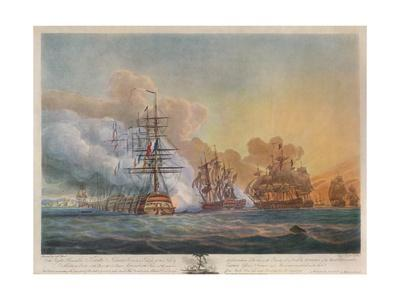 'Battle of the Nile', c1799