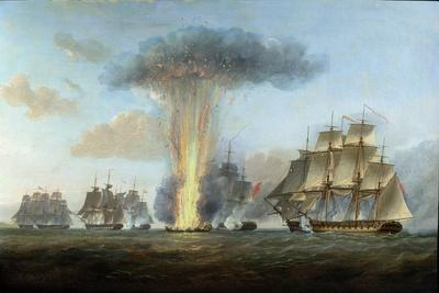 H.M.S. 'Lively' Capturing the Spanish Frigate 'Clara' Off Cape St. Mary, C.1806