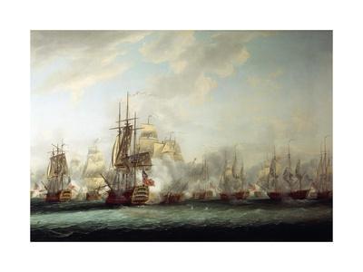 Naval Battle of the Saintes, April 12, 1782
