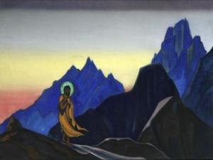 Bhagavan, 1943 by Nicholas Roerich