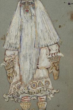 Ded Moroz. Costume Design for the Theatre Play Snow Maiden by A. Ostrovsky, 1912 by Nicholas Roerich