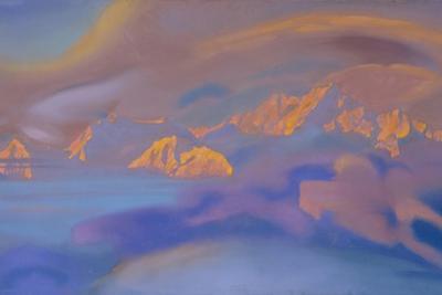 Kanchenjunga, 1938 by Nicholas Roerich