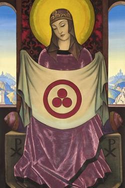 Madonna Oriflamma, 1932 by Nicholas Roerich