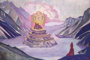 Nagarjuna Conqueror of the Serpent, 1925 by Nicholas Roerich
