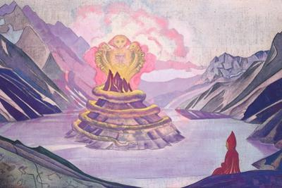 Nagarjuna Conqueror of the Serpent, 1925 by Nicholas Roerich