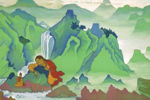 Padma Sambhava, 1924 by Nicholas Roerich