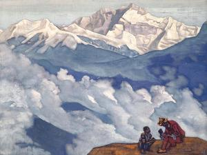 Pearl of Searching, 1924 by Nicholas Roerich