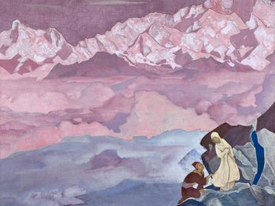 She Who Leads, 1924 by Nicholas Roerich