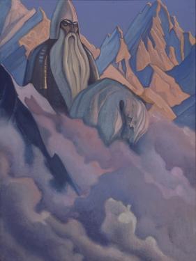 Svyatogor, 1942 by Nicholas Roerich