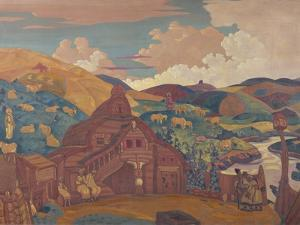 The Three Joys, 1916 by Nicholas Roerich
