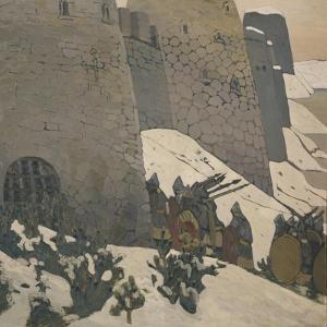 The Watch, 1905 by Nicholas Roerich