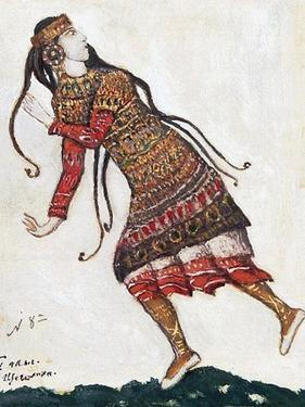 Ultrafashionable Lady, Costume Design for the Ballet the Rite of Spring, 1912 by Nicholas Roerich