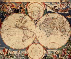 World Map by Nicholas Visscher