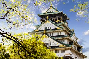 Osaka Castle by NicholasHan