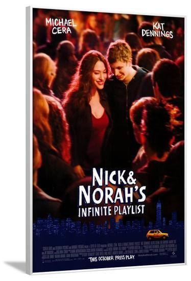 Nick and Norah's Infinite Playlist--Framed Poster