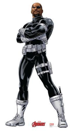 Nick Fury - Marvel Avengers Assemble Lifesize Standup