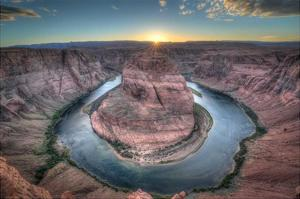 Horeshoe Bend along the Colorado River by Nick Jackson