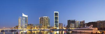 Lebanon, Beirut, the Beirut Skyline from Zaitunay Bay by Nick Ledger