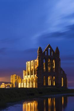 United Kingdom, England, North Yorkshire, Whitby - Whitby Abbey by Nick Ledger