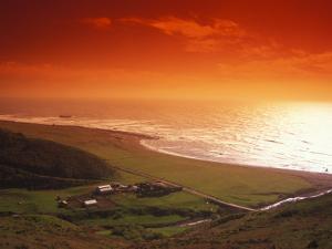 Enhanced Sunset on an Irish Coast by Nick Norman