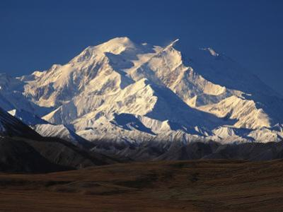 Snow-Covered Mountains, Denali National Park, Alaska by Nick Norman