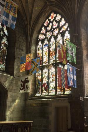 Banners of the Knights of the Order of the Thistle